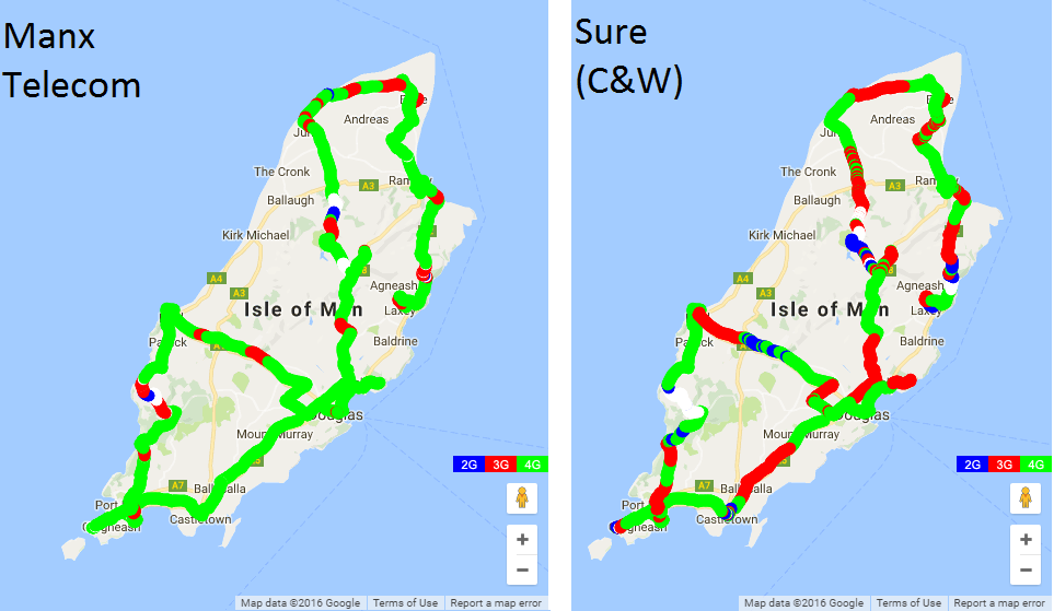 Map Of Uk 3g Coverage.Isle Of Man Mobile Networks Review
